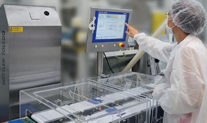 Společnost Orthomol nastavuje laťku kvality stechnologií kontrolního vážení