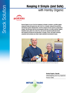 Hornby Organic | Product Inspection Case Study