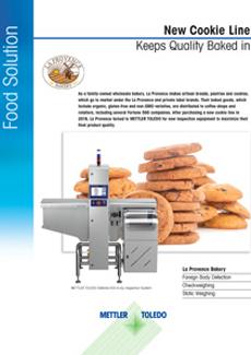 Bakkerij La Provence gebruikt productinspectie-apparatuur