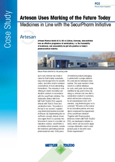 Artesan Pharma Implement Serialization Early