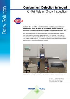 Kri-Kri | X-ray Inspection Case Study