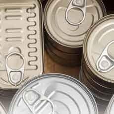 Garantierte Sicherheit von Lebensmittelkonserven