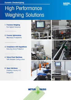 e-Guide: High Performance Weighing Solutions