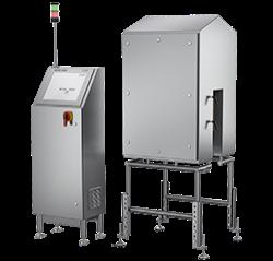 Systèmes d'inspection par vision V24 METTLER TOLEDO pour le contrôle des étiquettes et impressions sur les produits ronds non orienté