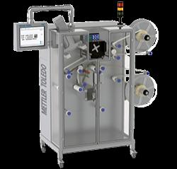 Systèmes d'impression et de contrôle d'étiquettes Gamme V28 permettant à la fois d'imprimer et d'inspecter les étiquettes de produit sur la bobine