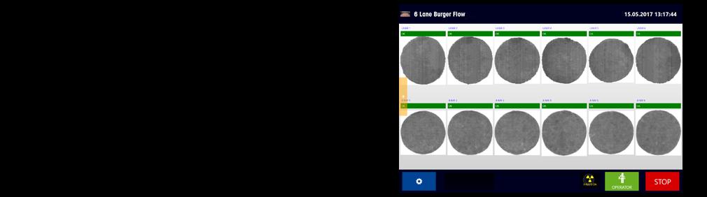 Sistemi di ispezione a raggi-X per prodotti non confezionati