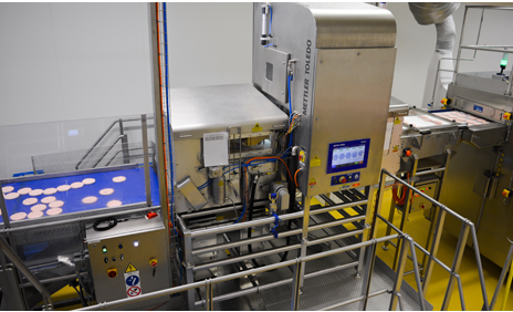 Sistemas de inspección por rayosX para productos no envasados