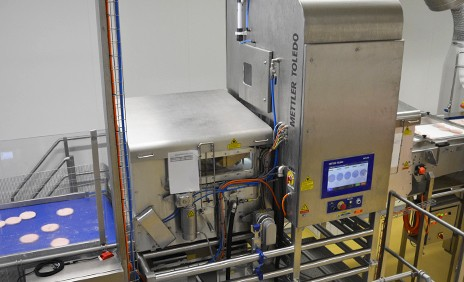 Unpackaged Food Product Inspection | X-ray Inspection