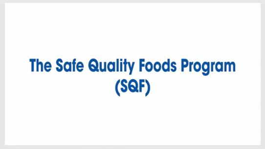 The Safe Quality Foods Program