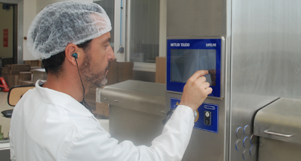X-ray Contaminant Detection