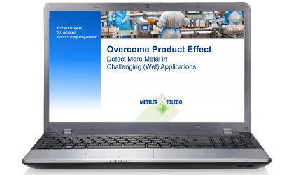 This webinar explains how to overcome product effect in metal detection, allowing even smaller metal contaminants to be found for brand protection and helping to increase profit margins.