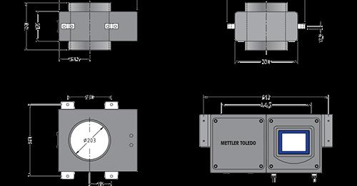 Throat Profile Metal Detector