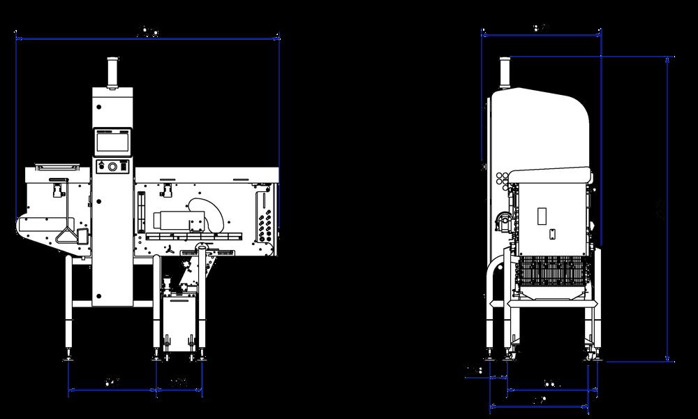 Sistema de inspección por rayos X X33 para productos a granel