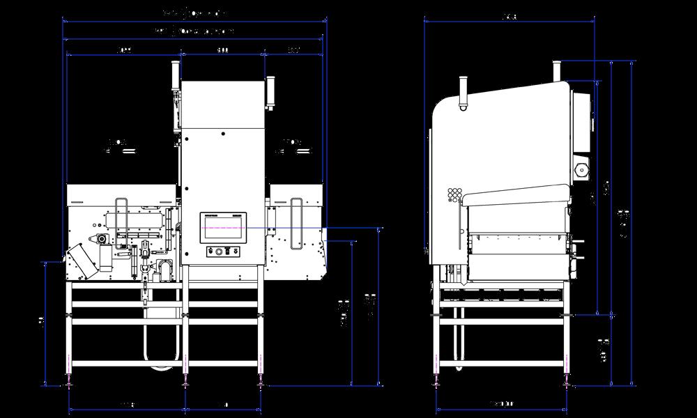 El sistema de inspección por rayos X X39