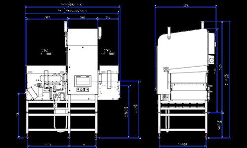 Das X39-Röntgeninspektionssystem