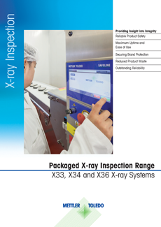 Packaged X-ray Inspection Series Brochure