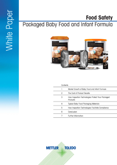Packaged Baby Food and Infant Formula