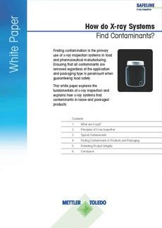 How Do X-ray Systems Find Contaminants – Free PDF Download