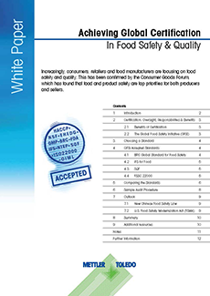 Achieving Global Certification In Food Safety