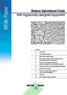 How Hygienically-designed Equipment can Reduce Operational Costs