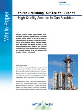 Sensoren in Gaswäschern