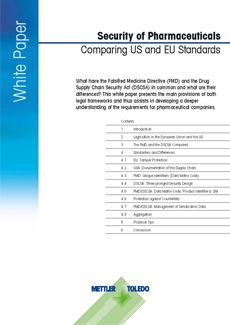 Arzneimittelsicherheit – Vergleich des US- und EU-Standards