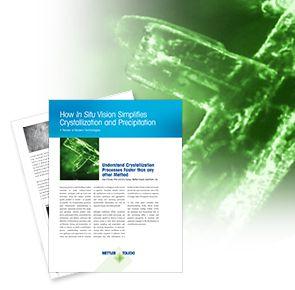 White paper om visuel in situ-krystallisering og -udfældning