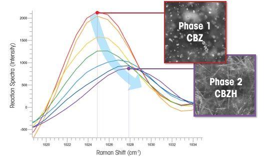 Detección de polimorfos en la carbamazepina