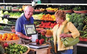 Balance fruits et légumes