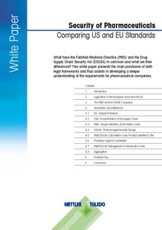 Livre blanc à télécharger: Sécurité des produits pharmaceutiques:Normes Américaines vs Européennes
