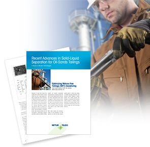 Separations in Mining and Oil Sands Operations White Paper