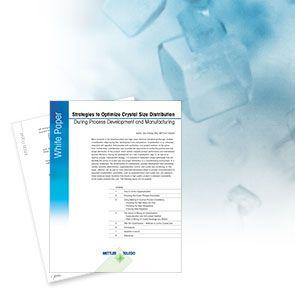 Stratégiák a kristályméret-eloszlás szabályozásához