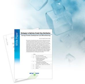 Strategien zur Kristallgrössenverteilung