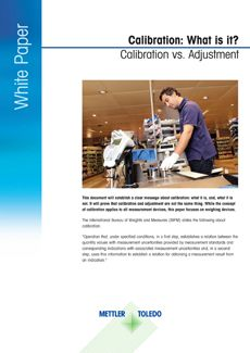 Retail Calibration White Paper
