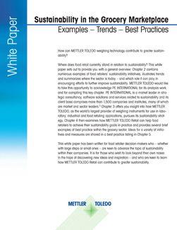 Artículo técnico sobre sostenibilidad