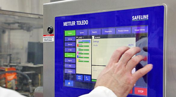 Inspection automatisée par rayonsX