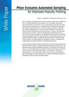 자동화 샘플링을 활용해 불순물 프로파일링 개선