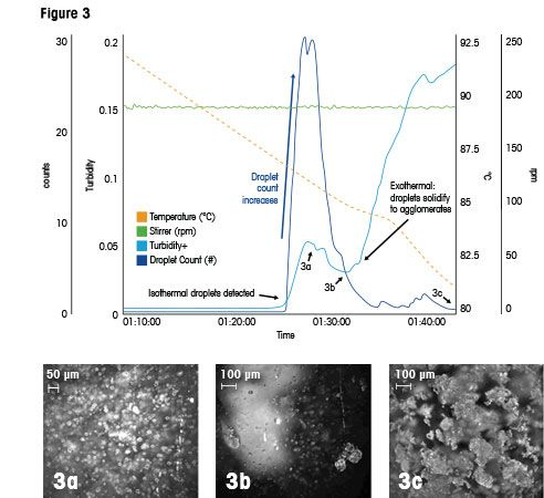 Detect Oiling Out in Crystallization