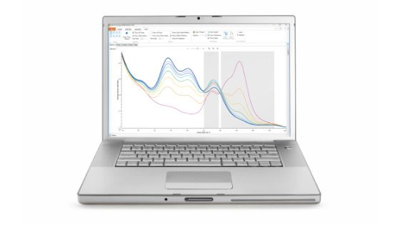 Raman-spectroscopie software