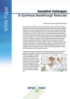Techniki syntezowania przełomowych molekuł