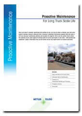 Vehicle Scale Health Checks - For Extended Scale Life