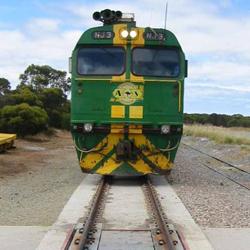 เครื่องชั่งรถไฟต่อพ่วงขณะกำลังเคลื่อนที่ (CIM)