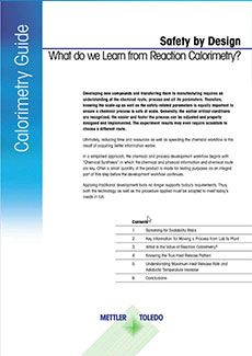 Guide to Reaction Calorimetry