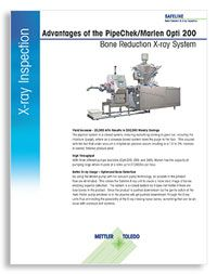 Advantages of the PipeChek/Marlen Opti 200