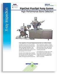 PipeChek Plus/Opti Pump System