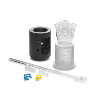 250 mL OptiMax One-Piece Glass Reactor Set